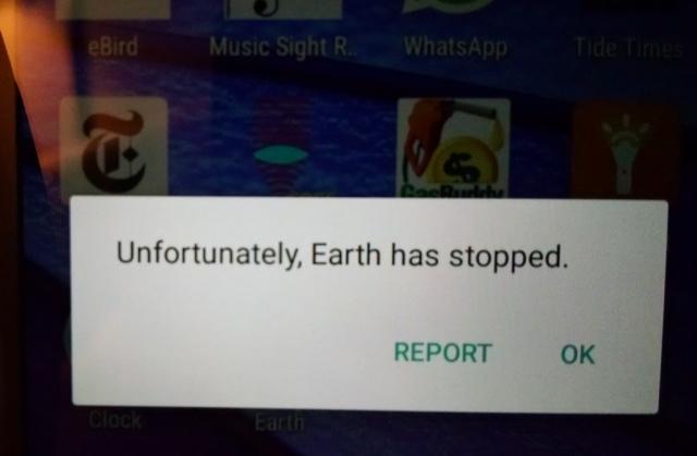 earthhasstopped